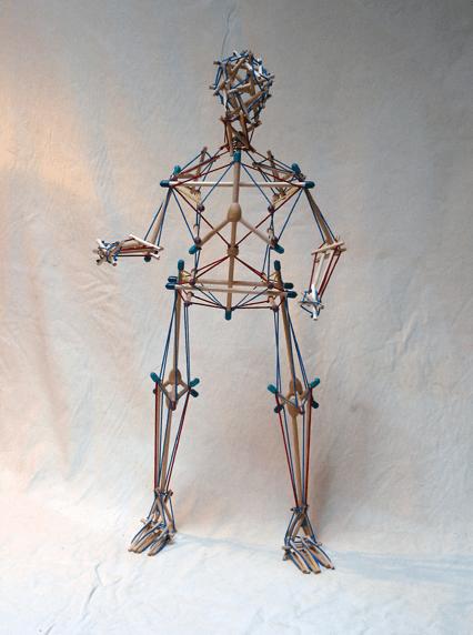 Tensegrity Skeleton Outline